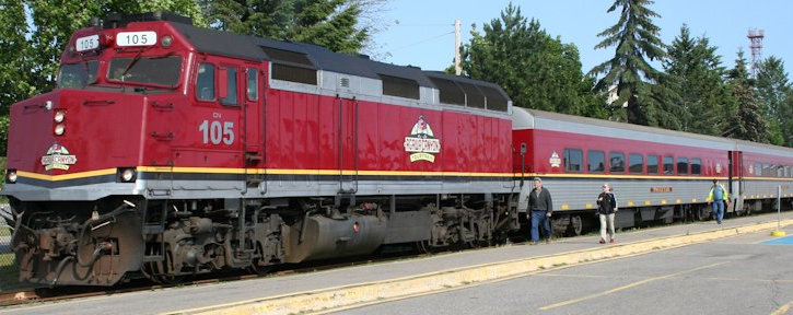 {Bear Train Refined Business Plan Submitted to Transport Canada}