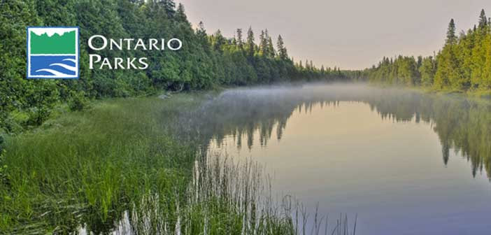 {Backcountry Camping available at Ontario Parks and on Crown Lands Starting June 1}