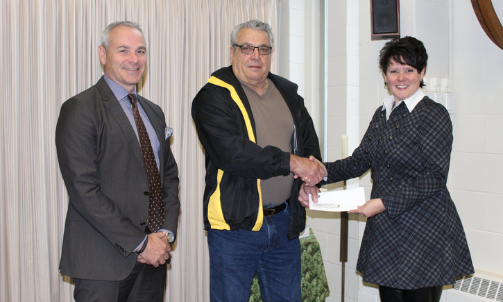 {HSCDSB Thankful for Generous Donation from USW}